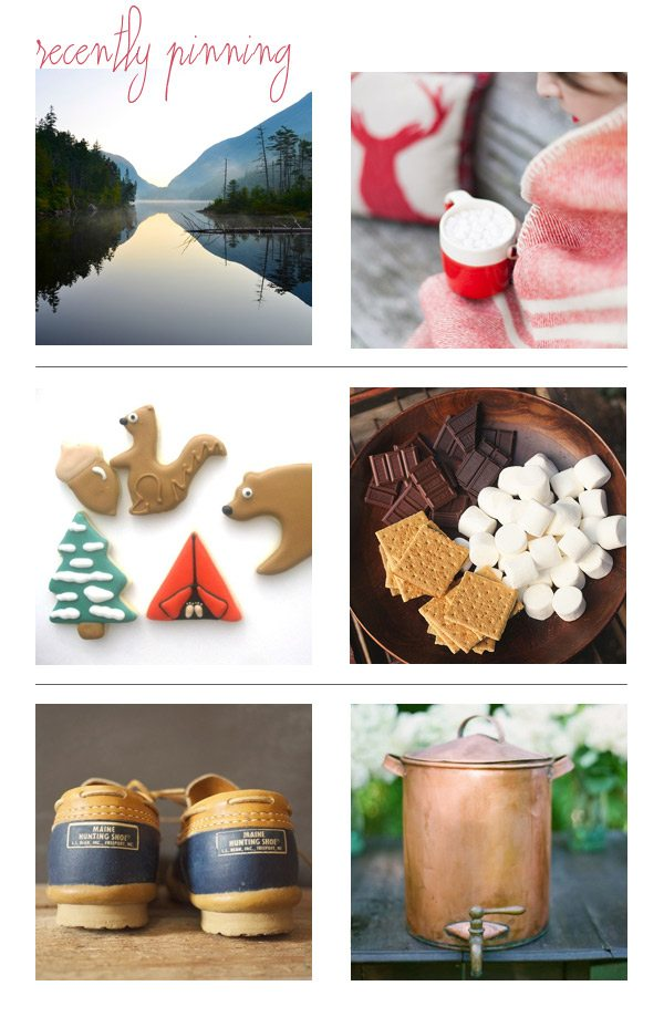 Recently Pinning: Camping