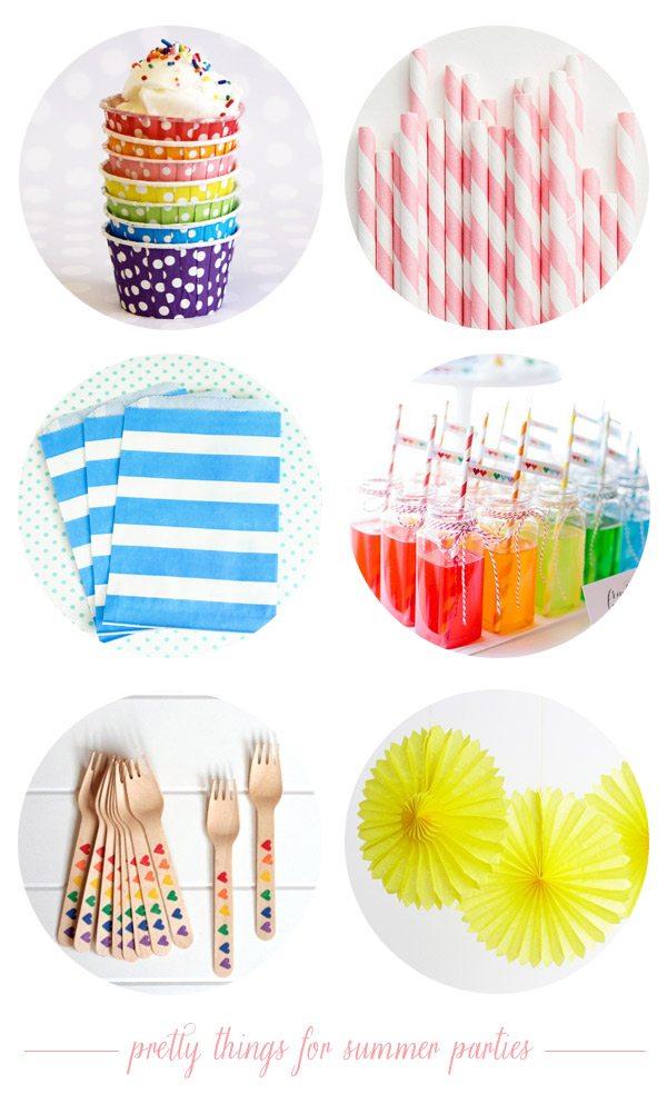 Shop Sweet: Summer Party Supplies