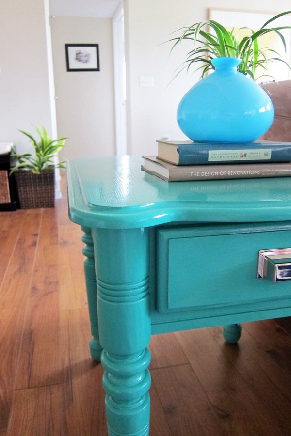 How To Paint Furniture Diy Painted End Tables The