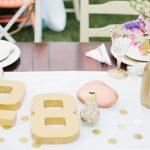 Elegant White + Gold Birthday Party