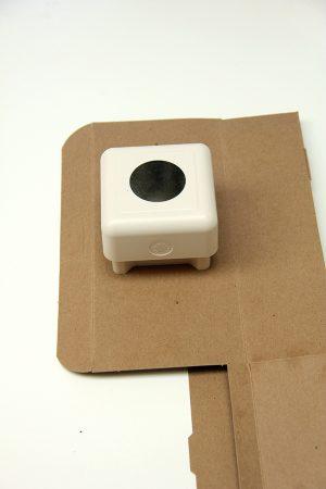 DIY Punchy Kraft Treat Boxes
