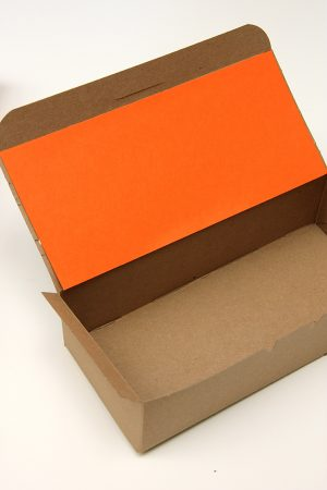 DIY Punchy Kraft Treat Boxes