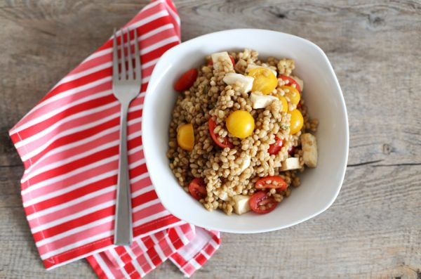 Tomato and Mozzarella Barley Salad