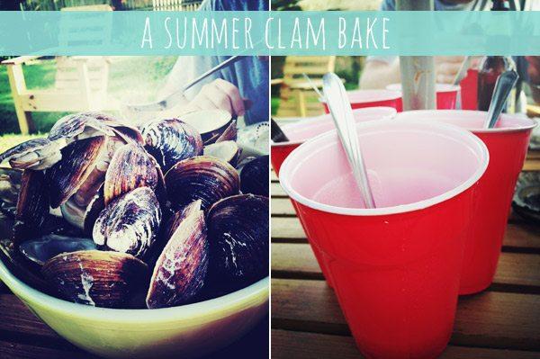 A Summer Clam Bake