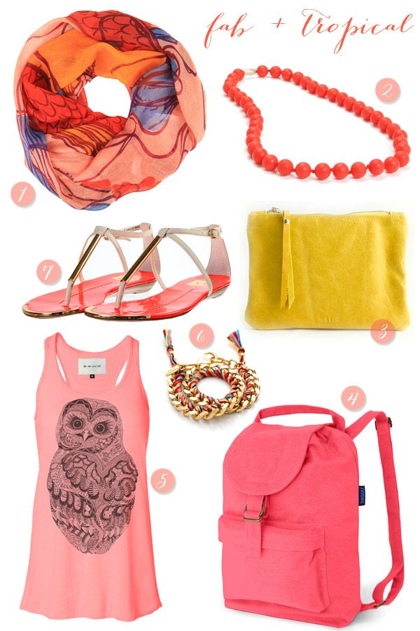 Tropical Summer Finds from Fab.com