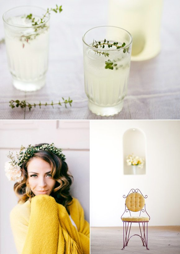Color Palette: Carnation and Thyme