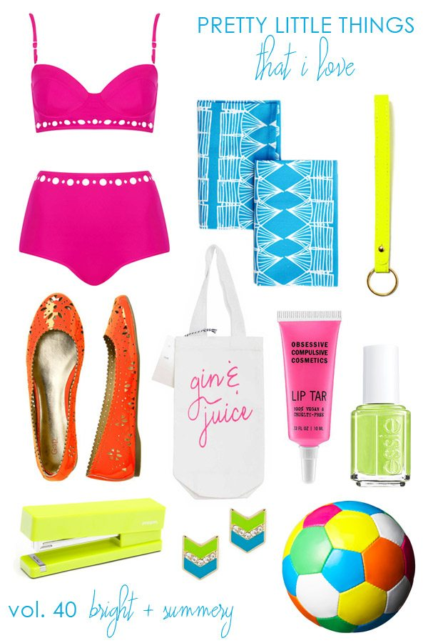 Bright Neon Things for Summer