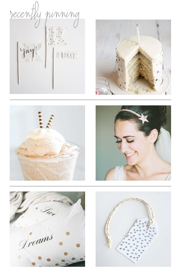 Recently Pinning: Festive Neutrals