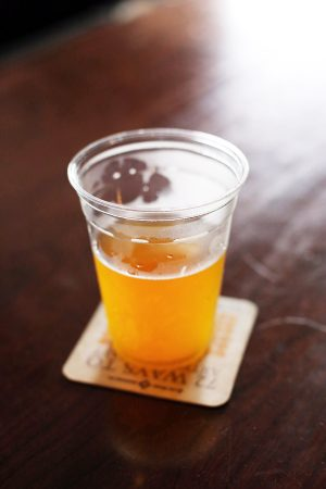 Sam Adams Summer Ale | Photo by Cyd Converse of The Sweetest Occasion