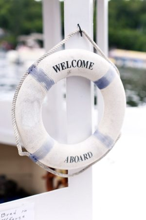 Welcome Aboard | Photo by Cyd Converse of The Sweetest Occasion