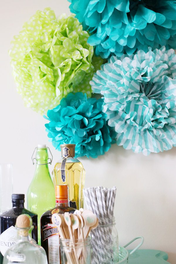how to make pom poms out of tissue paper Here's a simple how-to on making those gorgeous dahlia flower tissue paper pom poms you see in magazines and on the internet so easy, you'll be looking for places to.