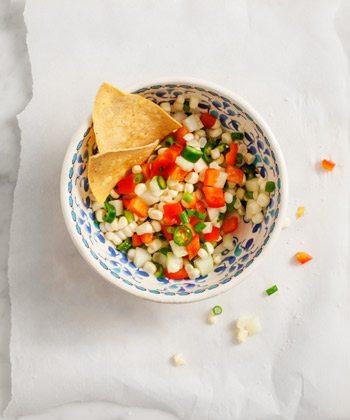 Serrano Corn Salsa