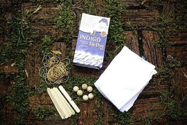 How to Indigo Tie Dye