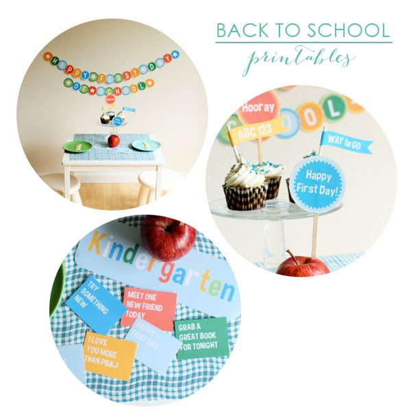 Back to School Printables | The Sweetest Occasion