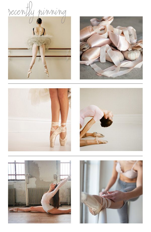 Recently Pinning: Beautiful Ballet