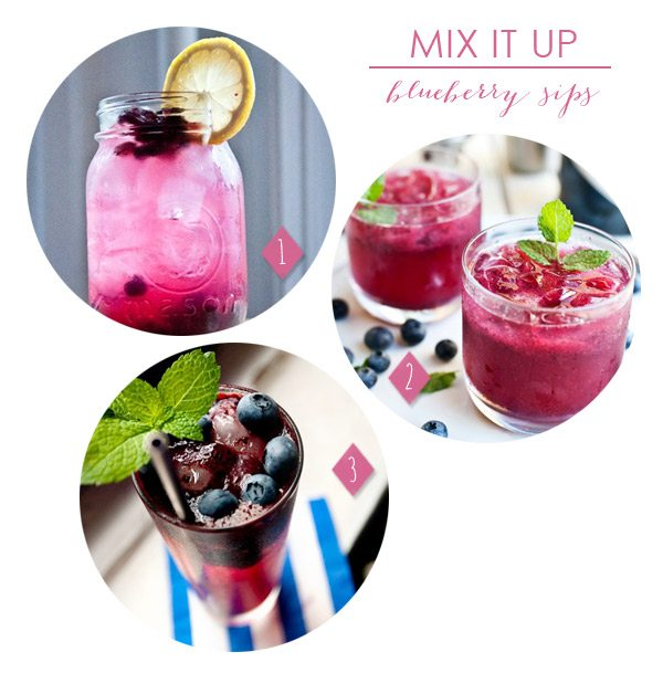 Blueberry Cocktails | The Sweetest Occasion