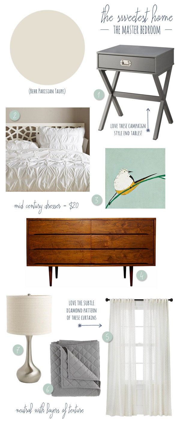 Master Bedroom Inspiration | The Sweetest Occasion