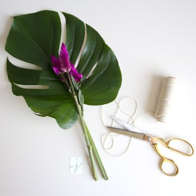 DIY Floral Place Settings thumbnail
