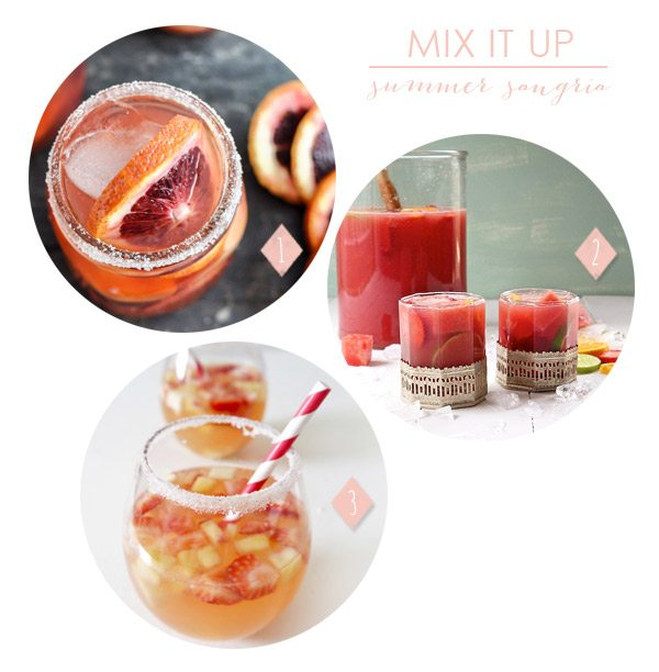 3 Summer Sangria Recipes | The Sweetest Occasion