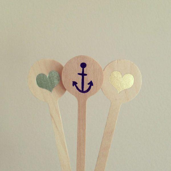 Swizzle Sticks from Chromatic & Co.
