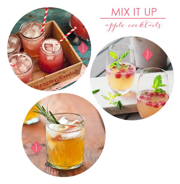 Mix It Up: 3 Apple Cocktails | The Sweetest Occasion