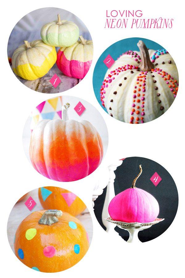 neon-pumpkins