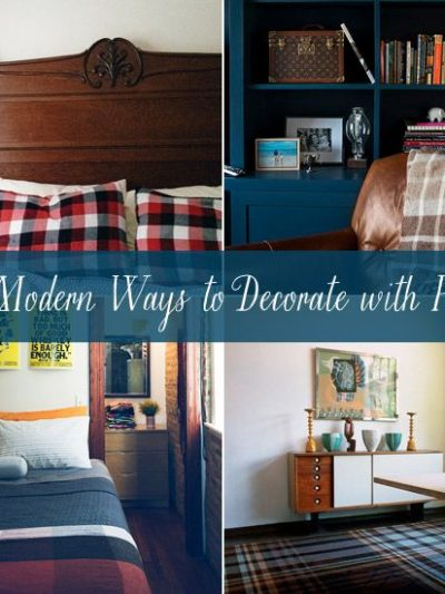 10 Modern Ways to Decorate with Plaid thumbnail