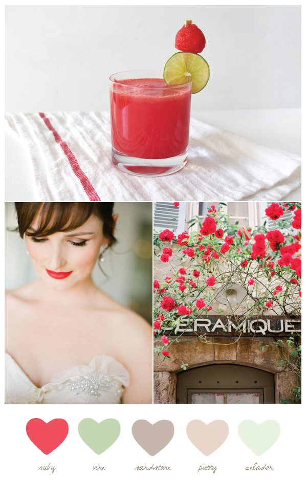 Ruby and Vine Color Palette   The Sweetest Occasion