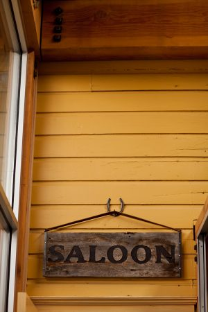 An Old West Saloon Rehearsal Dinner