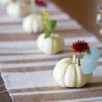 Nice Stems: DIY Mini Pumpkin Centerpieces