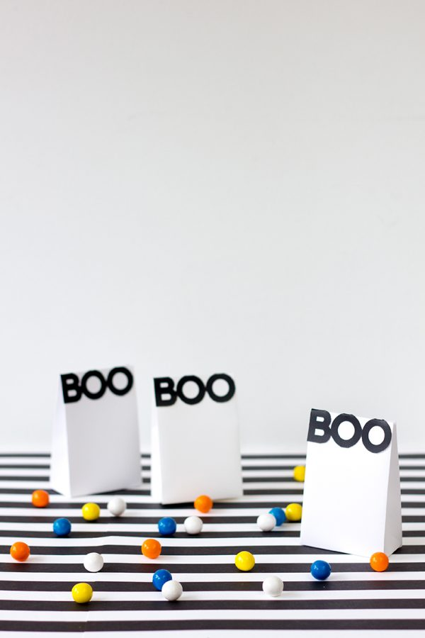 Boo! Printable Halloween Treat Bags