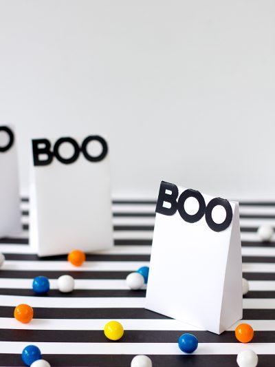 BOO! Printable Halloween Treat Bags thumbnail
