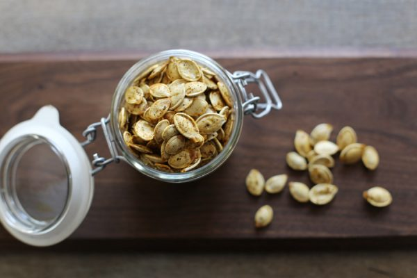 Roasted Pumpkin Seeds | The Sweetest Occasion