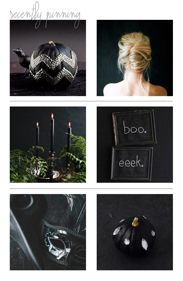 Recently Pinning: Spooky Glam Halloween Decorations