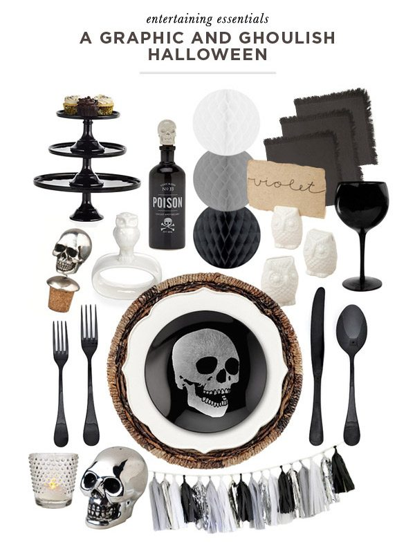Entertaining Essentials: A Graphic and Ghoulish Halloween