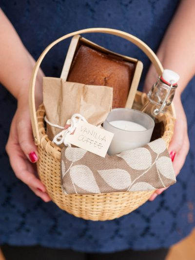 DIY Holiday Hostess Gift Basket thumbnail