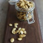 From the Kitchen: Roasted Pumpkin Seeds