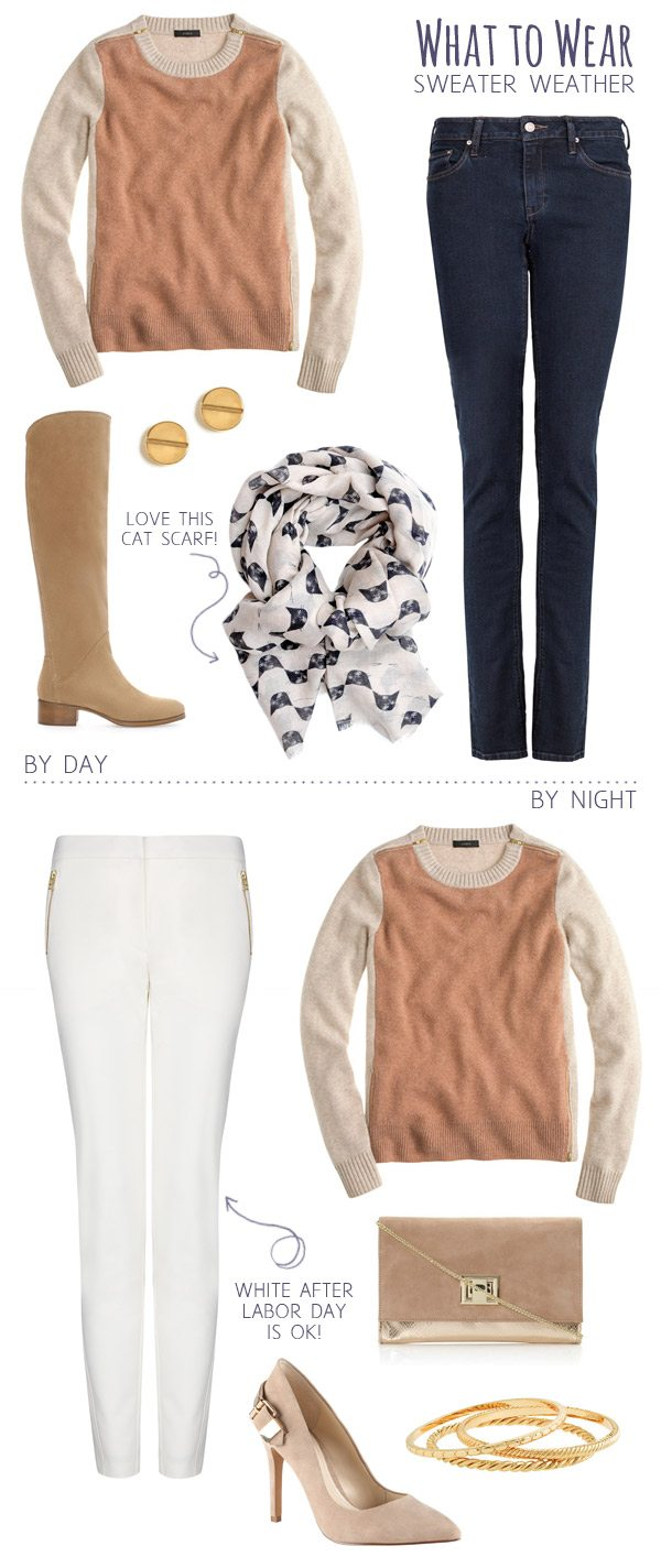 What To Wear Sweater Weather The Sweetest Occasion