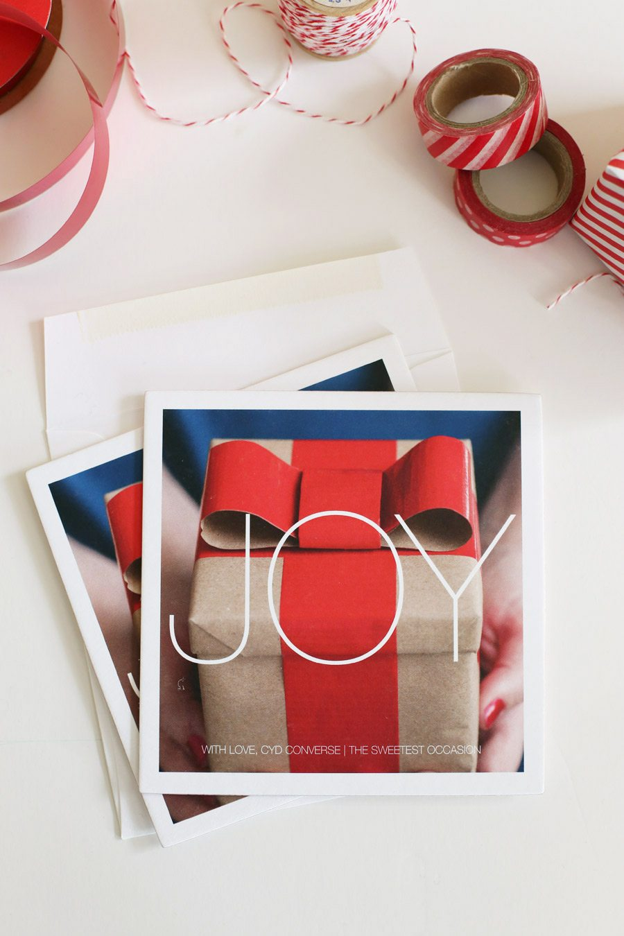 Holiday Cards from Pinhole Press | The Sweetest Occasion