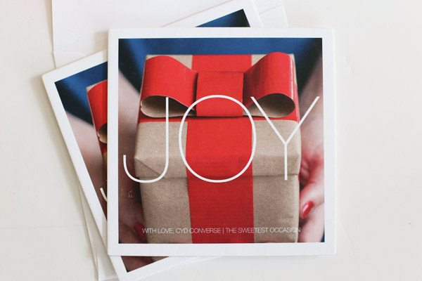 Holiday Cards from Pinhole Press   The Sweetest Occasion