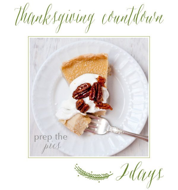 Thanksgiving Countdown | The Sweetest Occasion