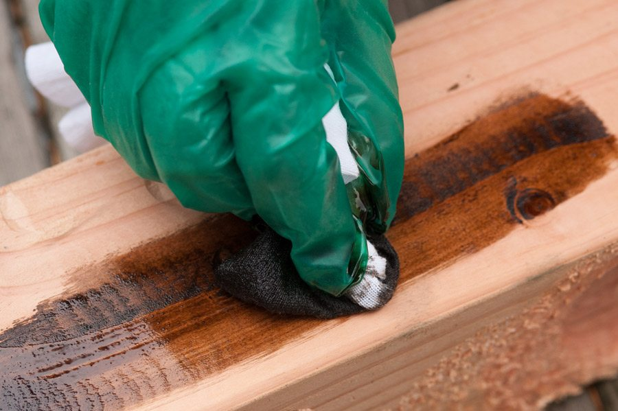 staining-wood - The Sweetest Occasion — The Sweetest Occasion