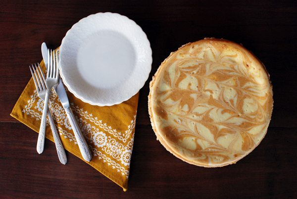 Pumpkin Swirl Cheesecake | The Sweetest Occasion