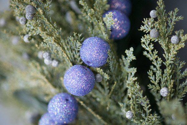 Small Purple Christmas Tree