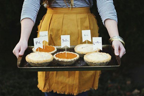 Mini Pie Place Cards