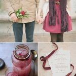Color Palette: Garnet + Plum