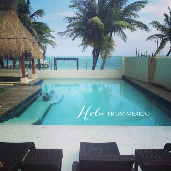 Hola from Mexico