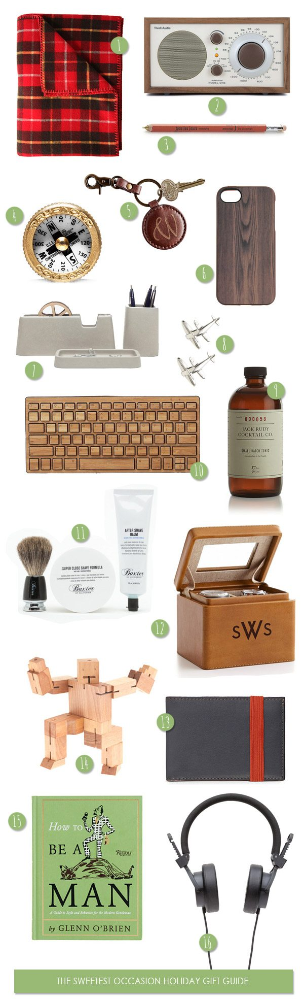 Holiday Gifts for Guys | The Sweetest Occasion
