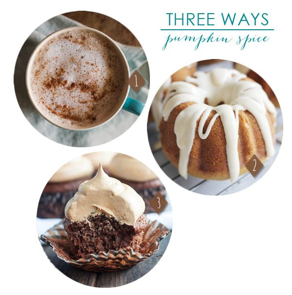 3 Pumpkin Spice Recipes