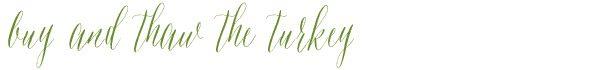 thawing-a-turkey